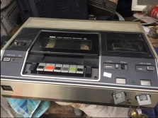 VINTAGE VCR PLAYER RECORDER
