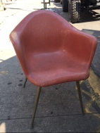CHROMECRAFT FIBERGLASS CHAIR