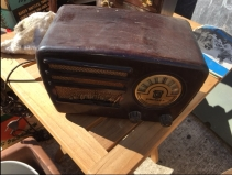 CROSLEY BAKELIGHT RADIO