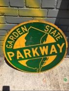 GARDEN STATE METAL SIGN