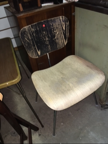 HERMAN MILLER BENT PLYWOOD CHAIR