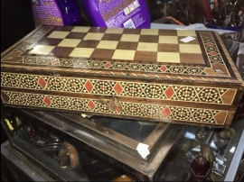 INLAID CHESS SET