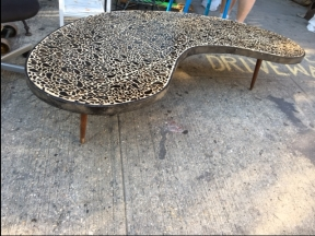 KIDNEY MID CENTURY MODERN TABLE