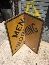 MEN WORKING SIGN 2