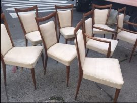 MID CENTURY MODERN ROSEWOOD CHAIRS 2