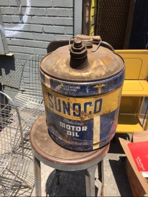 SUNOCO OIL CAN