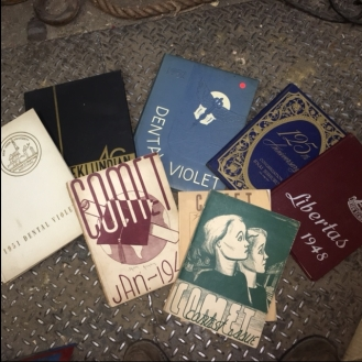 VINTAGE YEARBOOKS