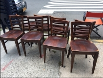 WOOD CHAIRS