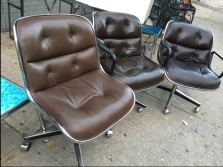 knoll-leather-office-chairs