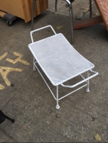 white-stool