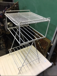 white-wire-rack
