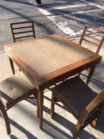 mid-century-dining-set