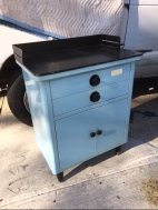 small-blue-medical-cabinet