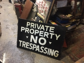 private-peoperty-sign
