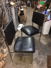 mid-cent-black-chairs