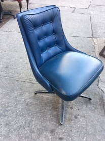 mid-century-modern-blue-chair