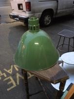 green-porcelain-warehouse-lamp