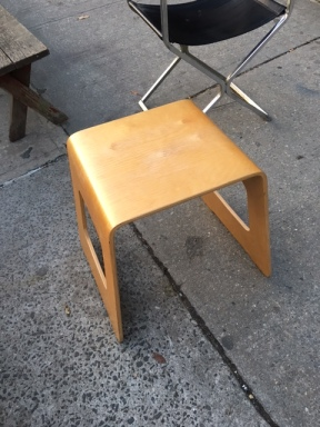 BENT PLYWOOD TABLE