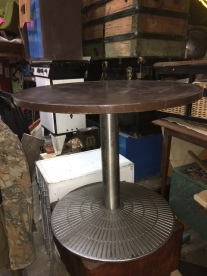 MID CENTURY ROUND DINING TABLE