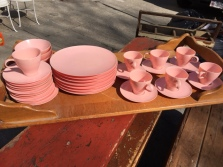 PINK LUCENT DISHES