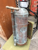ANTIQUE FRENCH FIRE EXTINGUISHER