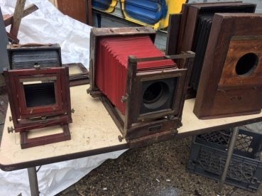 ANTIQUE KODAK BELLOW CAMERAS 3