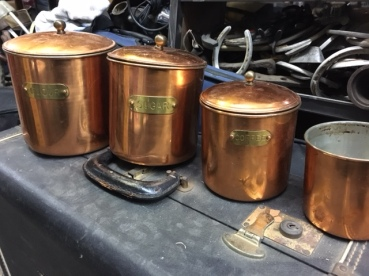 COPPER CEREAL SET