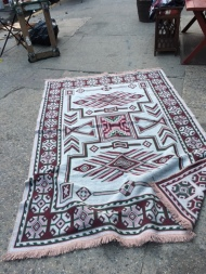 HANDMADE AREA RUG GREEK SIDE 2