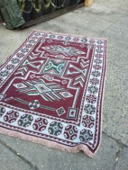 HANDMADE AREA RUG GREEK