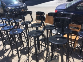 INDUSTRIAL STOOLS A BUNCH