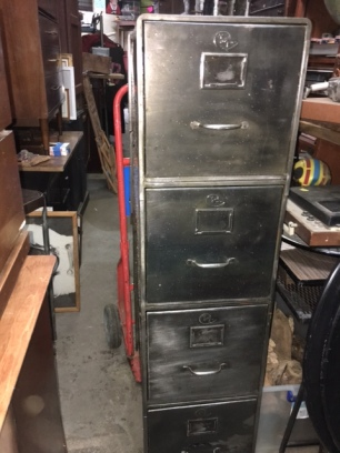 INDUSTRIAL STRIPPED FILE CABINET