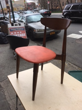 MID CENTURY WOOD CHAIR