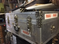 SILVER TRUNK MADE IN ENGLAND