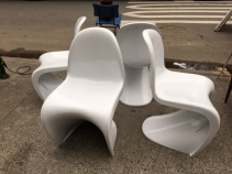 VITRA SCOOP CHAIRS