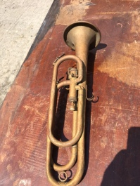 ANTIQUE BUGLE