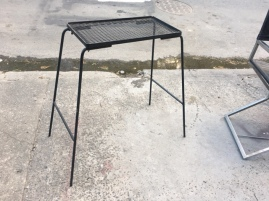 MID CENTURY WROUGHT IRON STAND