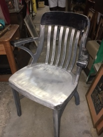 ALUMINUM GOOD FORMS TANKER CHAIR