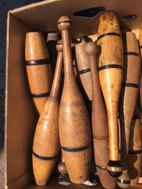 ANTIQUE JUGGLING BATONS