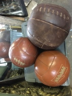 ANTIQUE MEDICINE BALLS