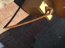 HAND CARVED CANE
