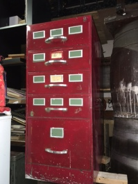 INDUSTRIAL STORAGE FILE CABINET