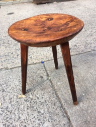 MODERN CUSHMAN WOOD STOOL