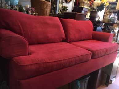 NEW COUCH RED