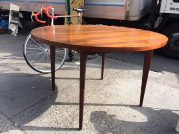 TEAK MID CENTURY MODERN DINING TABLE 2