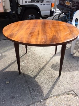 TEAK MID CENTURY MODERN DINING TABLE