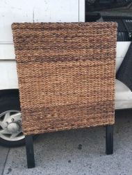 WICKER HEAD BOARD