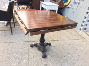 BUTCHER BLOCK BISTRO TABLE