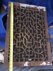CAST IRON VENT COVER 2