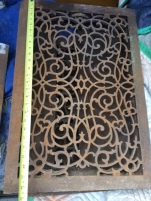 CAST IRON VENT COVERS