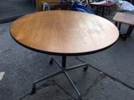 KNOLL WOOD TABLE